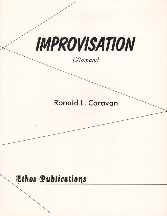 "Improvisation (""Romani"") - Tenor Sax Unaccompanied"