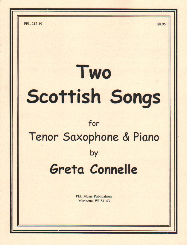 2 Scottish Songs - Tenor Sax and Piano