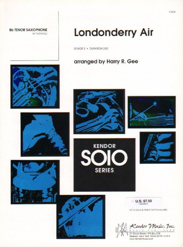Londonderry Air - Tenor Sax and Piano