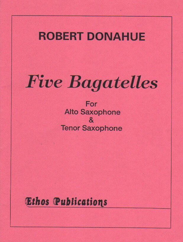 5 Bagatelles - Sax Duet AT