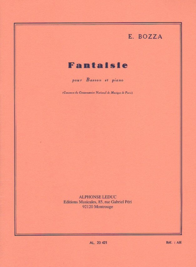 Fantaisie - Bassoon and Piano