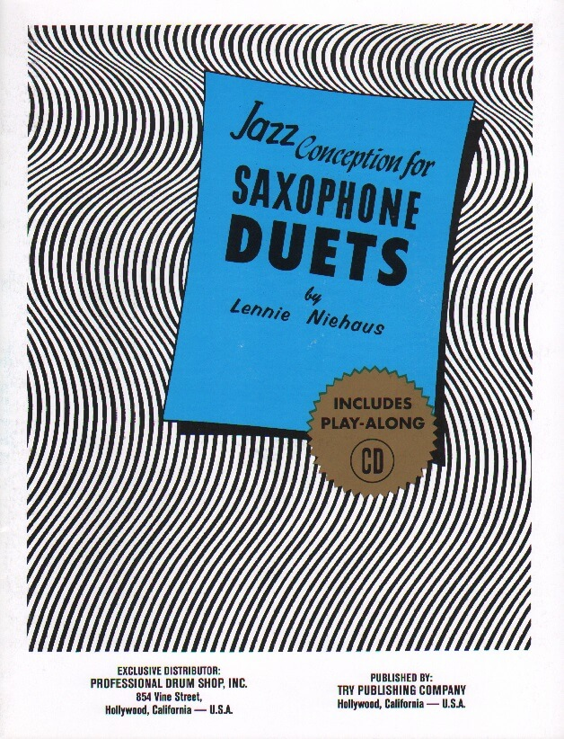 Jazz Conception for Saxophone Duets (Bk/CD) - Sax Duet AA