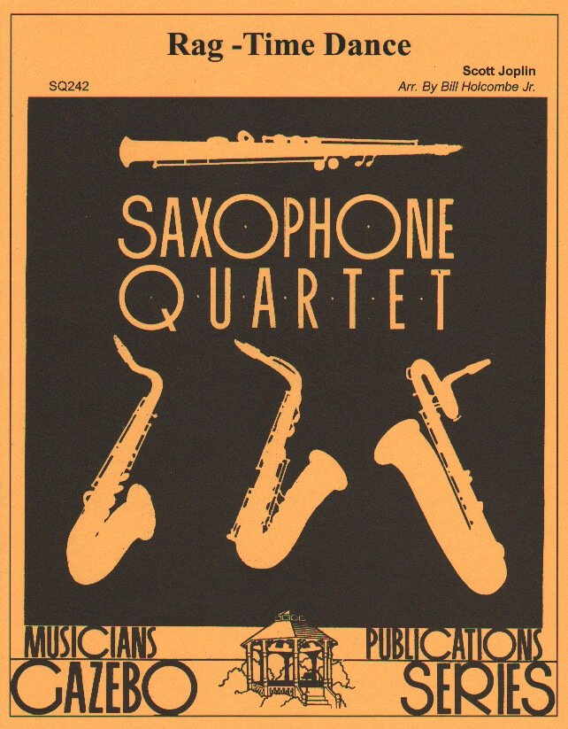 Rag-Time Dance - Sax Quartet SATB