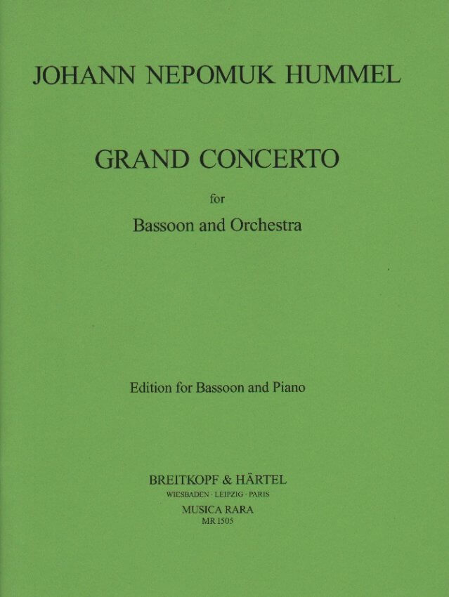 Grand Concerto in F Major - Bassoon and Piano