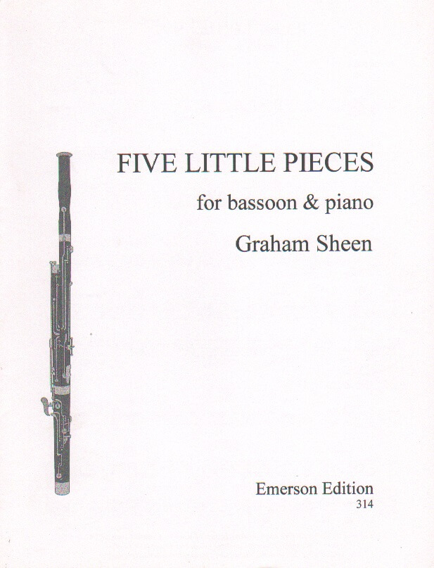 5 Little Pieces - Bassoon and Piano