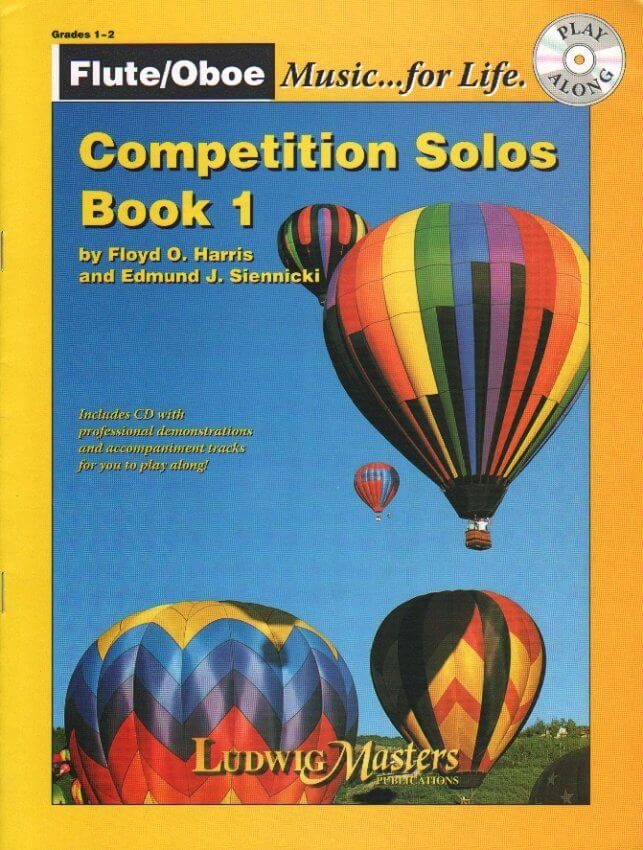 Competition Solos, Book 1 (Bk/CD) - Flute or Oboe Part