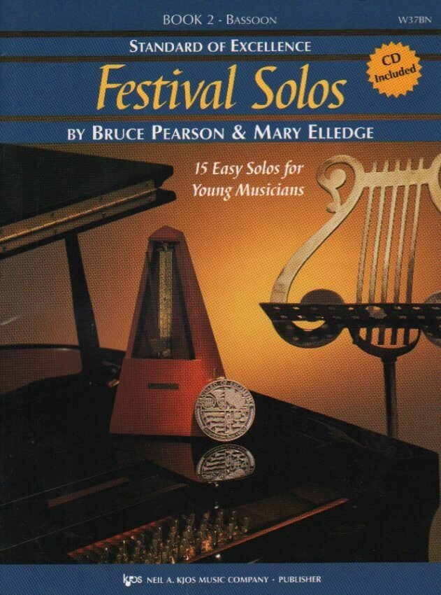 Festival Solos, Book 2 (Bk/CD) - Bassoon Part