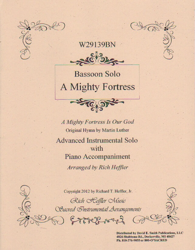 Mighty Fortress - Bassoon and Piano