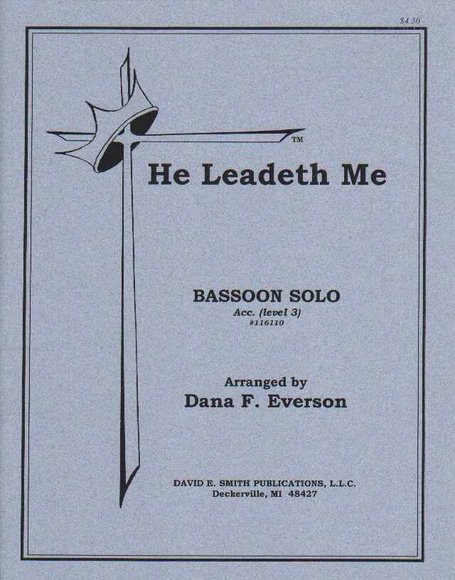 He Leadeth Me - Bassoon and Piano