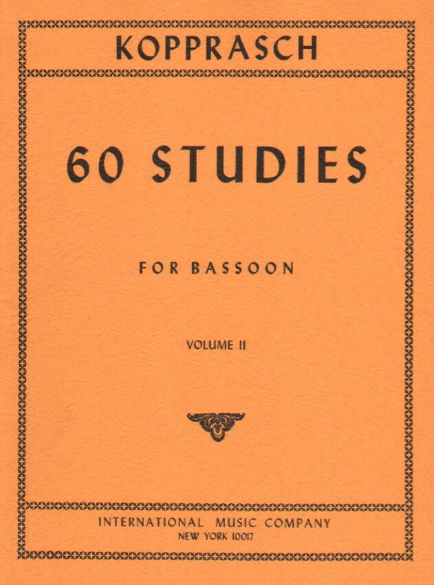 60 Studies, Vol. 2 - Bassoon