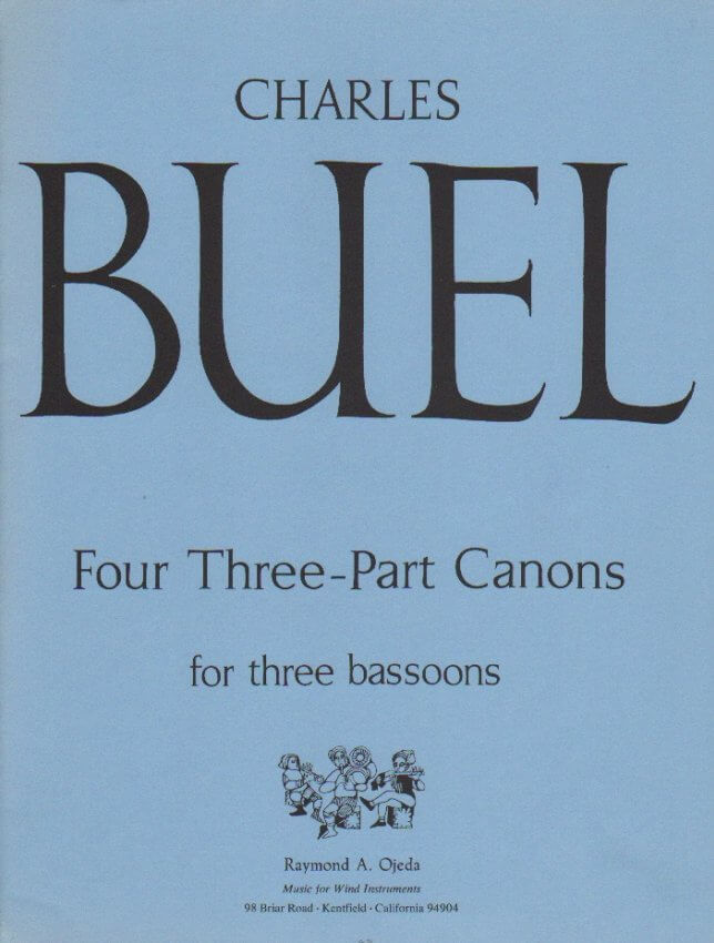 4 3-Part Canons - Bassoon Trio