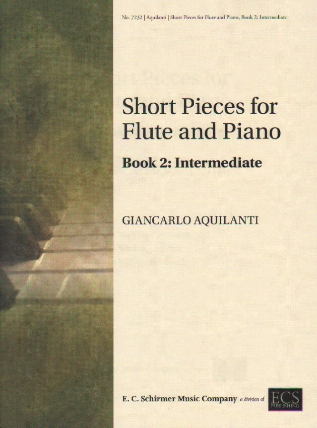 Short Pieces for Flute and Piano, Book 2: Intermediate
