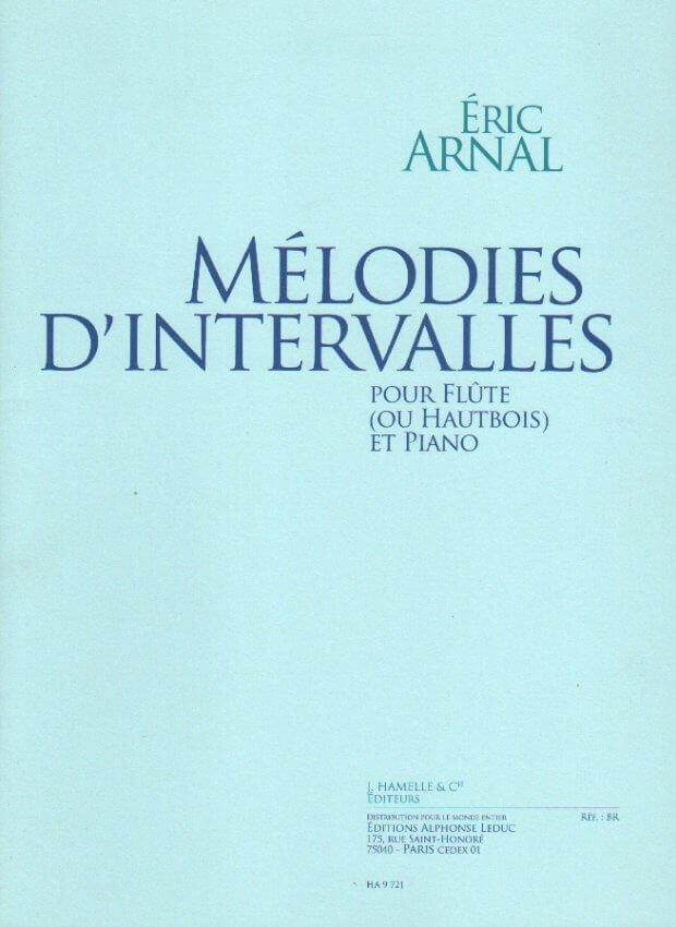 Melodies D'Intervalles - Flute (or Oboe) and Piano