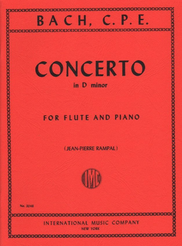 Concerto in D Minor, Wq. 22 - Flute and Piano