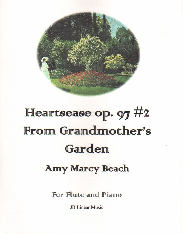Heartsease, Op. 97, No. 2 - Flute and Piano