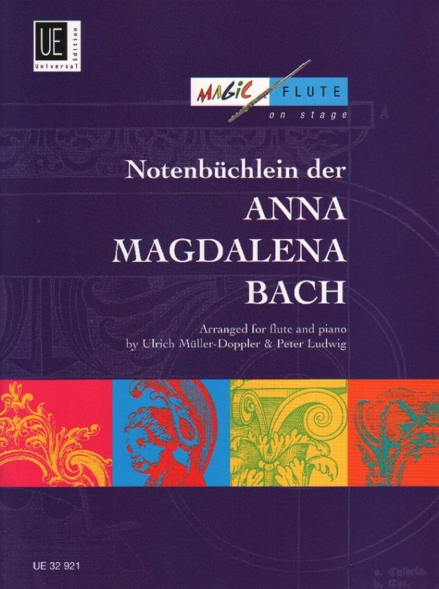 Notebook for Anna Magdalena Bach - Flute and Piano