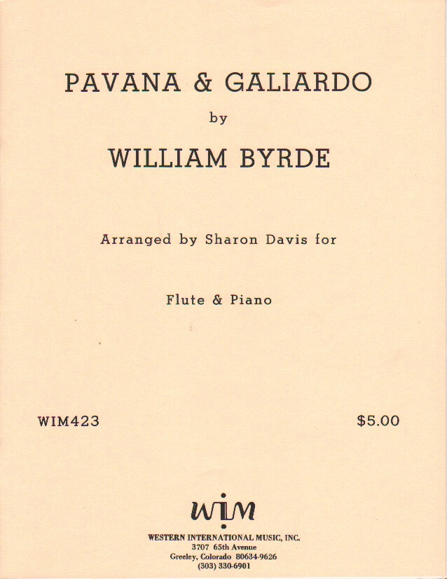 Pavana & Galiardo - Flute and Piano