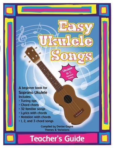 Groth Music Company Easy Ukulele Songs Teachers Guide
