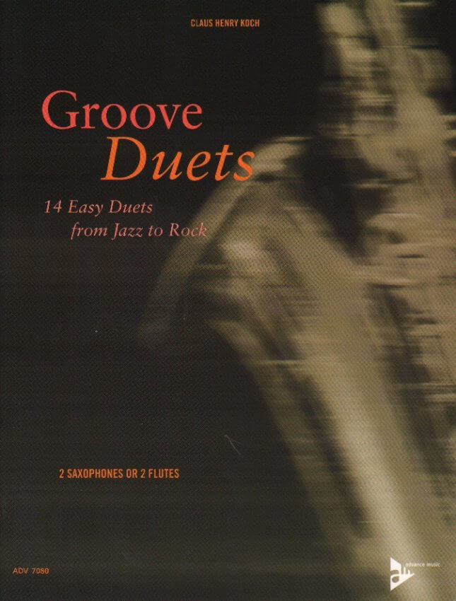 Groove Duets - Sax or Flute Duet