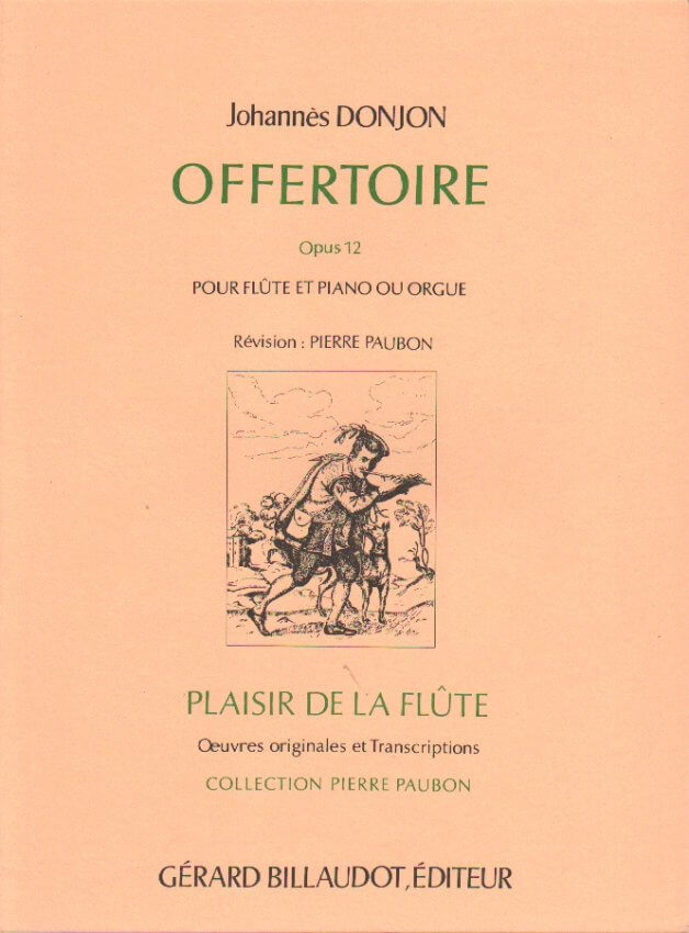 Offertoire, Op. 12 - Flute and Piano