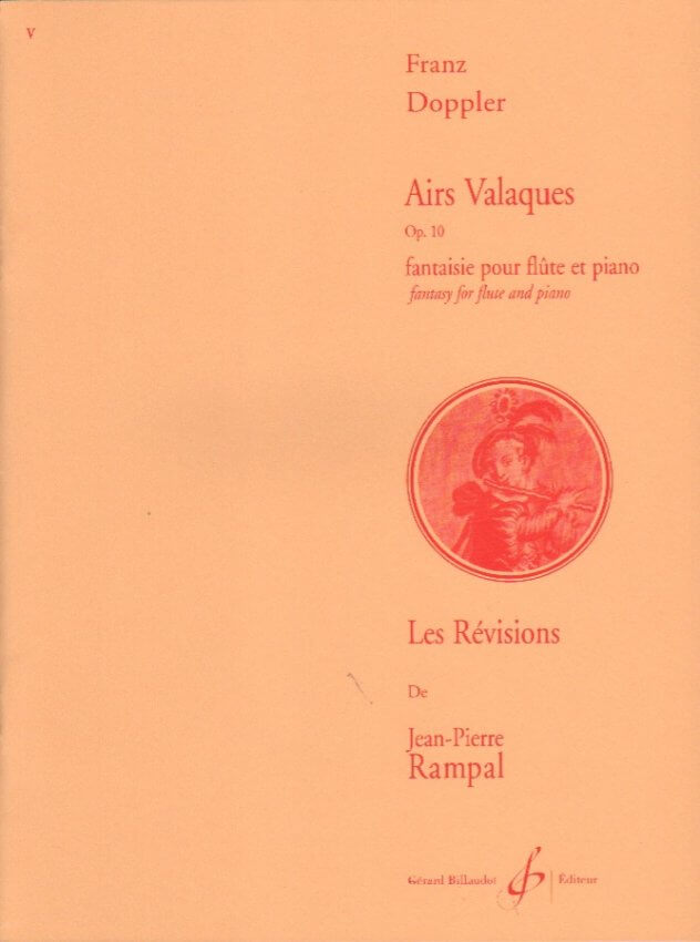 Airs Valaques Op. 10 - Flute and Piano