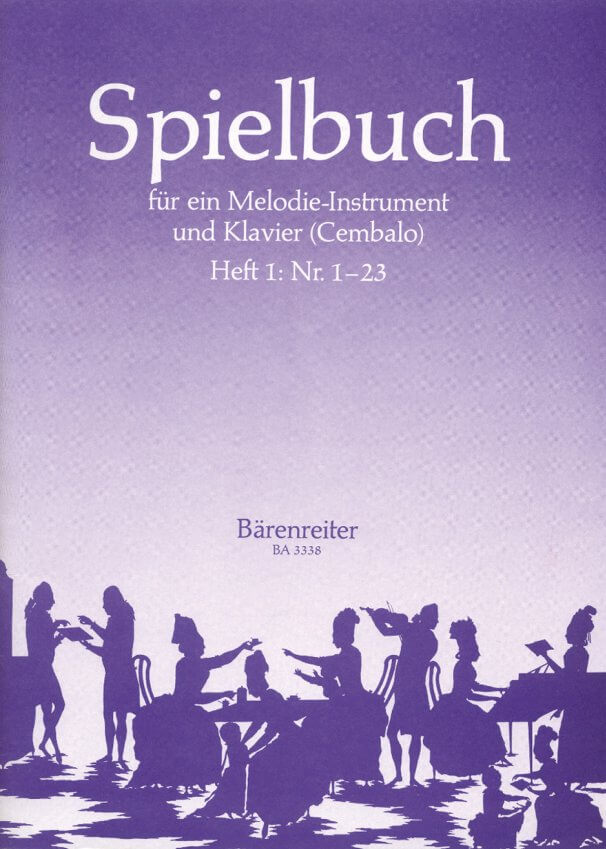 Spielbuch Book 1, No. 1-23 - C Recorder (or Flute, Oboe, or Violin) and Piano