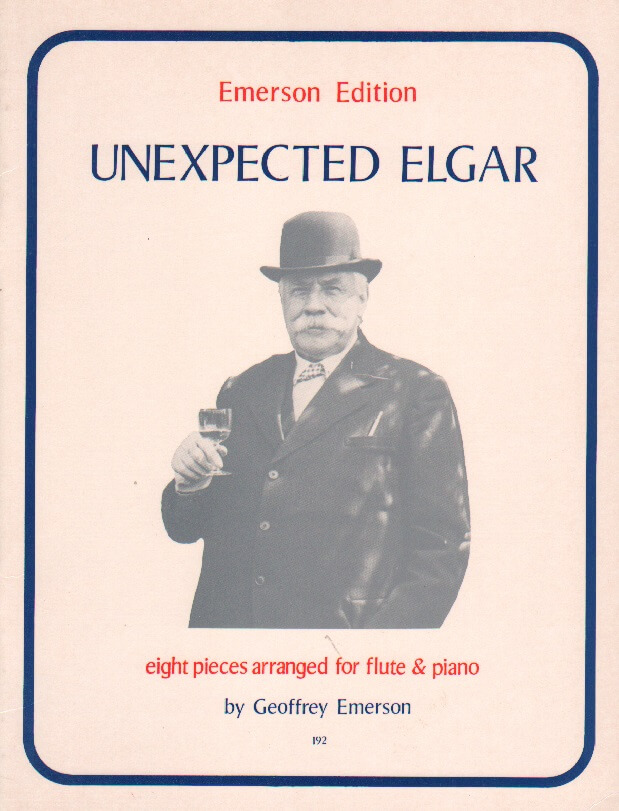 Unexpected Elgar: 8 Pieces - Flute and Piano