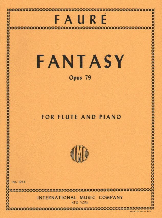 Fantaisie, Op. 79 - Flute and Piano