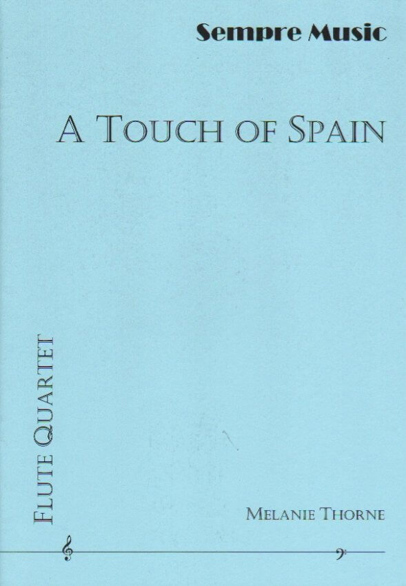 Touch of Spain- Flute Quartet