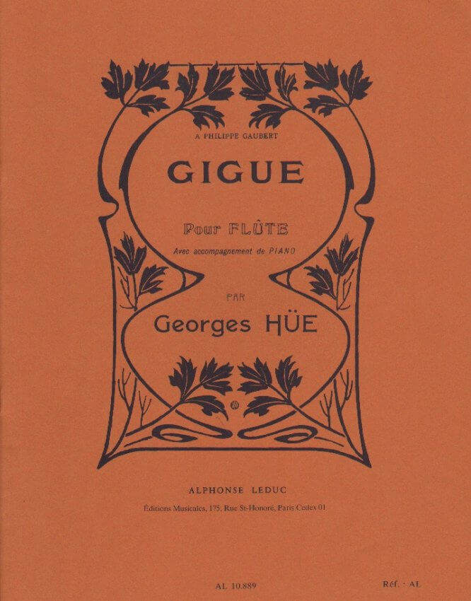 Gigue - Flute and Piano