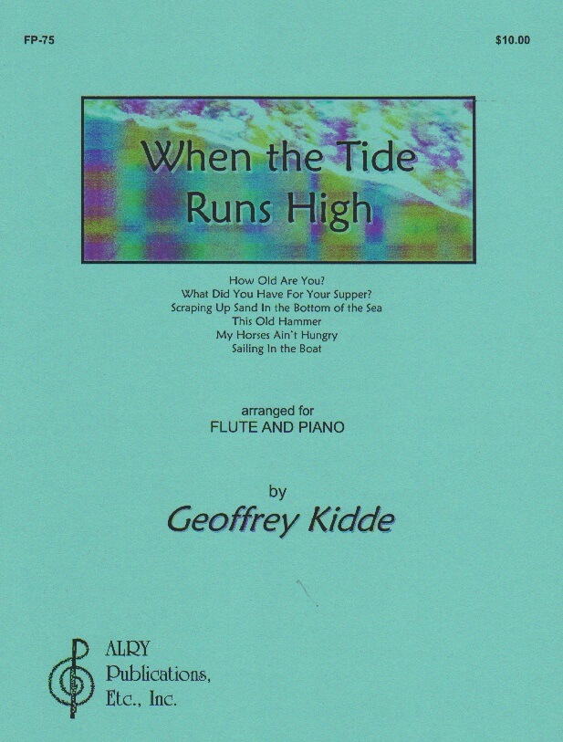 When the Tide Runs High - Flute and Piano