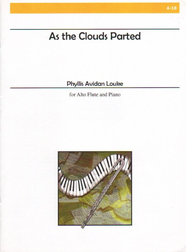 As the Clouds Parted - Alto Flute and Piano