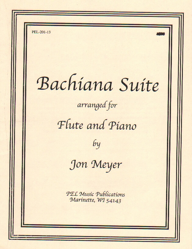 Bachiana Suite - Flute and Piano