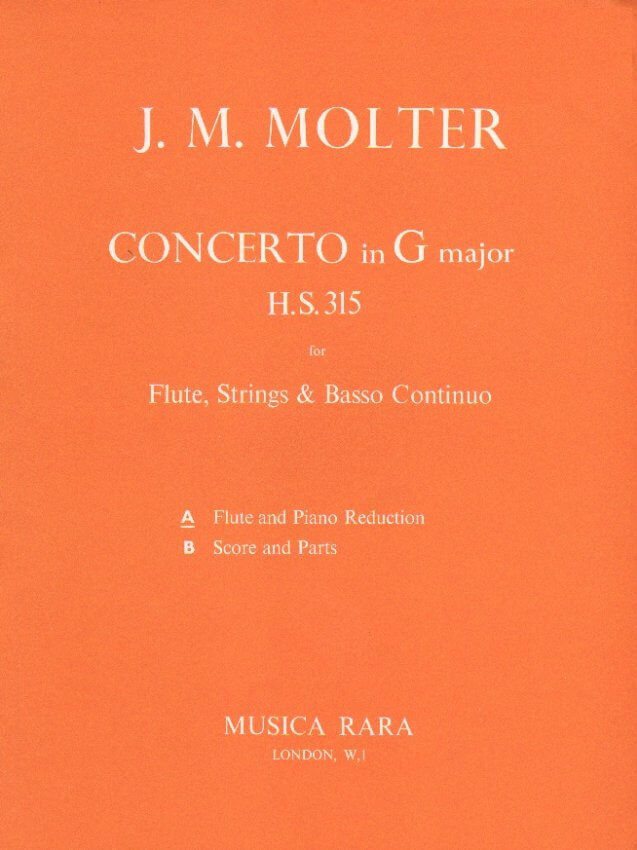 Concerto in G Major - Flute and Piano