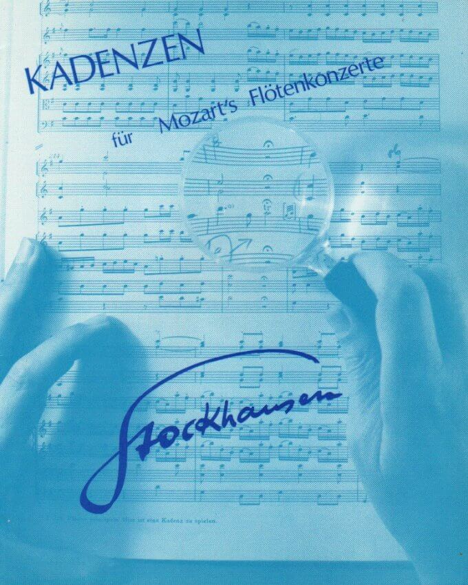 Cadenzas by Stockhausen: Mozart Concerti in G Major, K. 313 and D Major, K. 314 - Flute