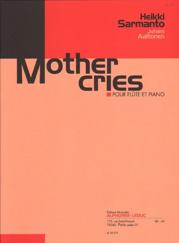 Mother Cries - Flute and Piano
