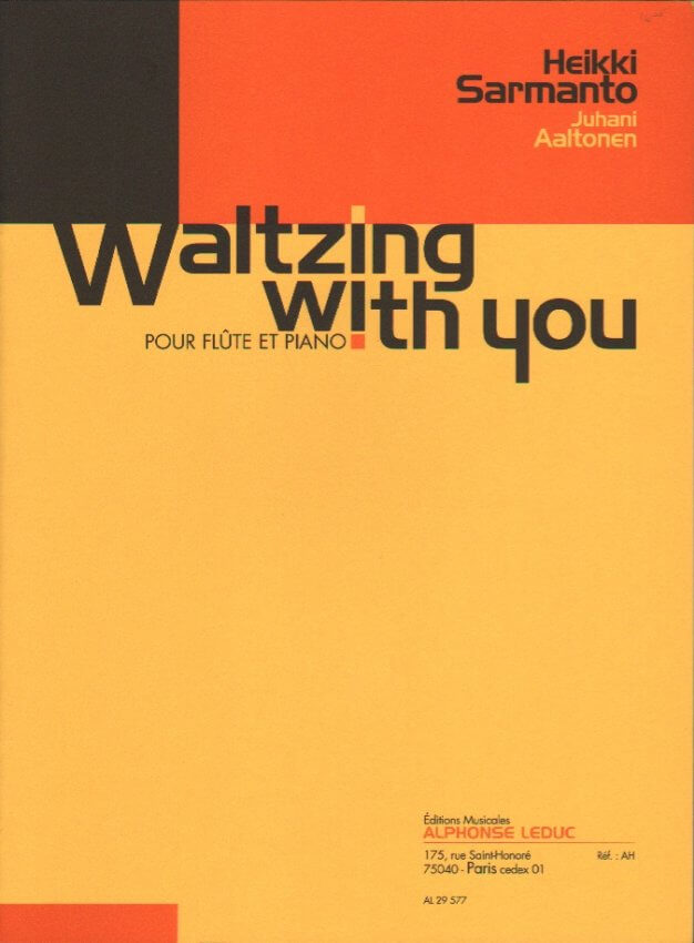 Waltzing With You - Flute and Piano