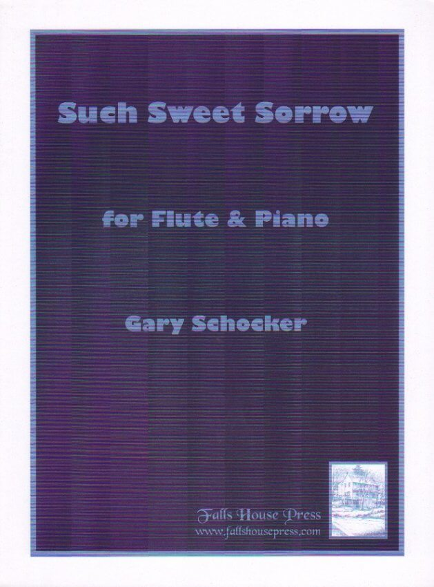 Such Sweet Sorrow - Flute and Piano