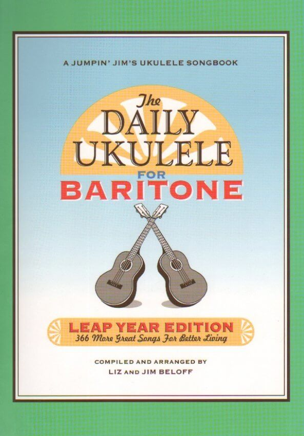 Groth Music Company Daily Ukulele For Baritone Leap Year Edition