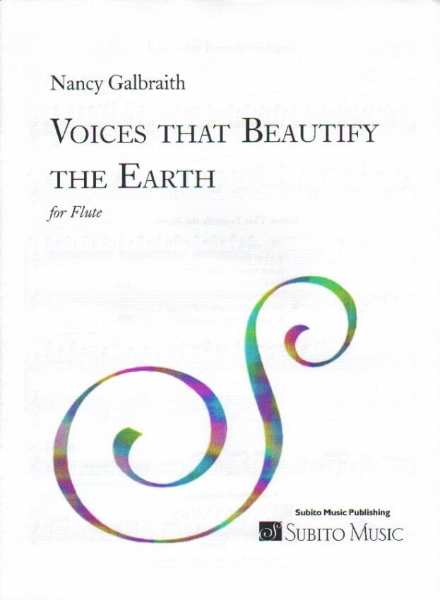 Voices That Beautify The Earth - Flute Unaccompanied