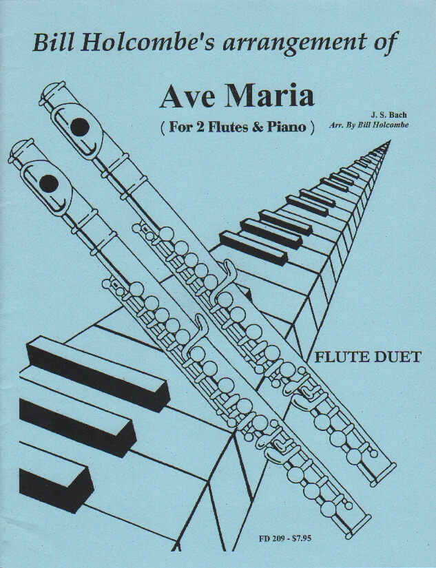 Ave Maria - Flute Duet and Piano