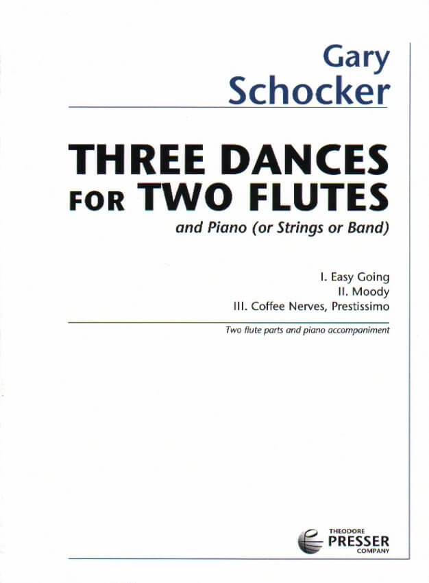 3 Dances - Flute Duet and Piano (or Strings or Band)