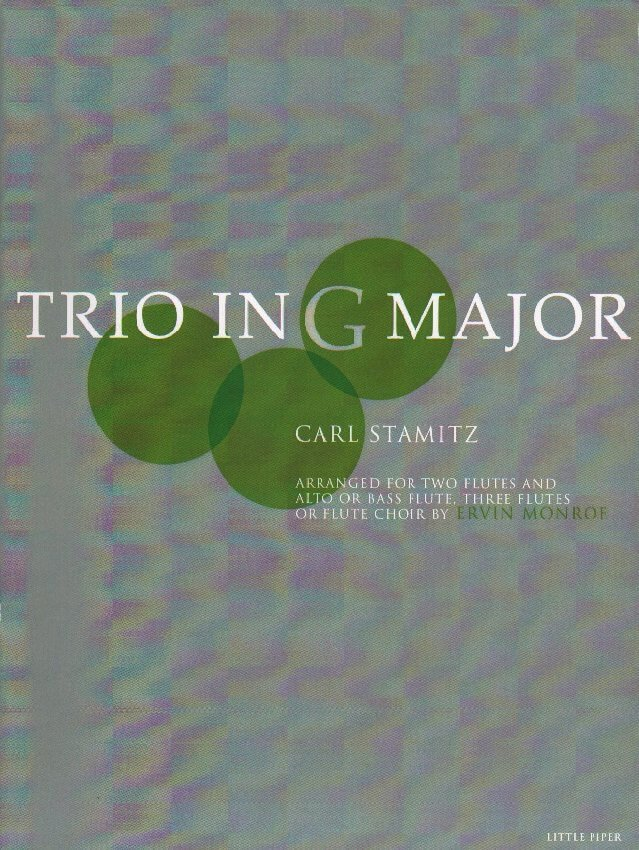 Trio in G Major - Flute Trio or Flute Choir