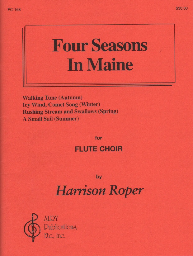 4 Seasons in Maine - Flute Choir