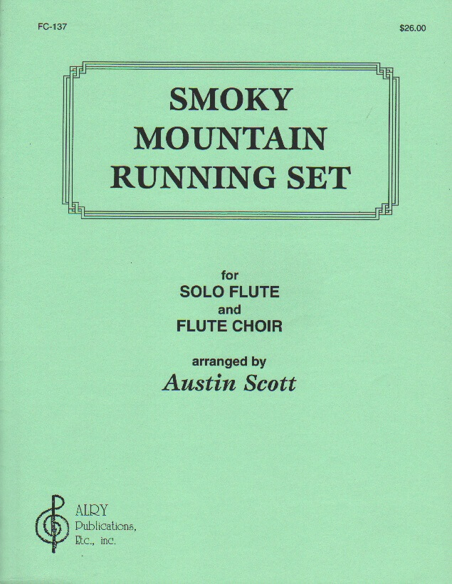 Smoky Mountain Running Set - Solo Flute with Flute Choir