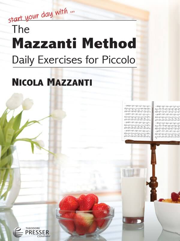 Mazzanti Method, The: Daily Exercises for Piccolo - Book