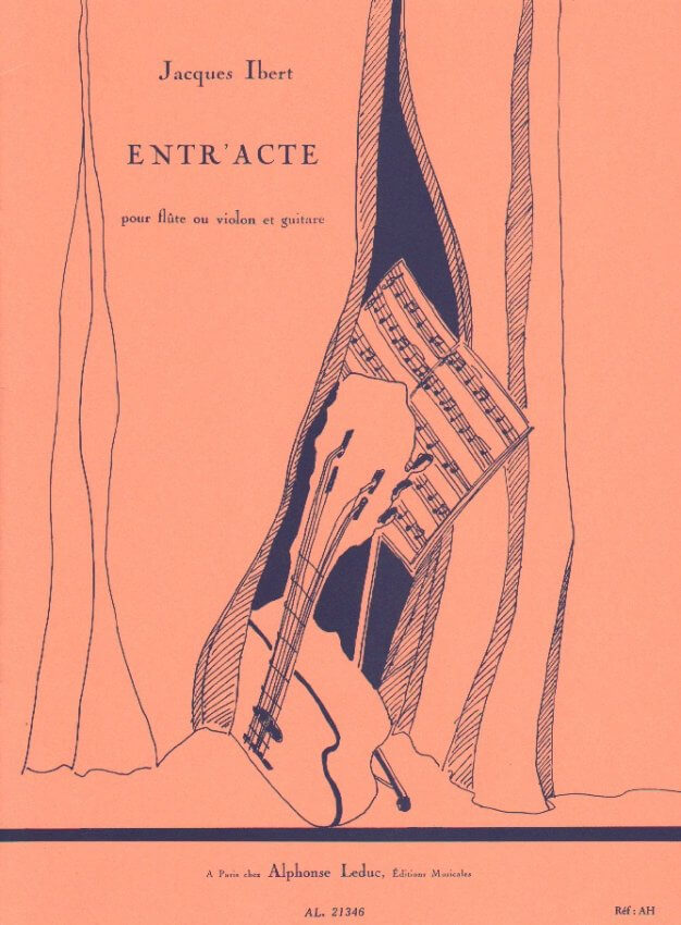 Entr'acte - Flute (or Violin) and Guitar
