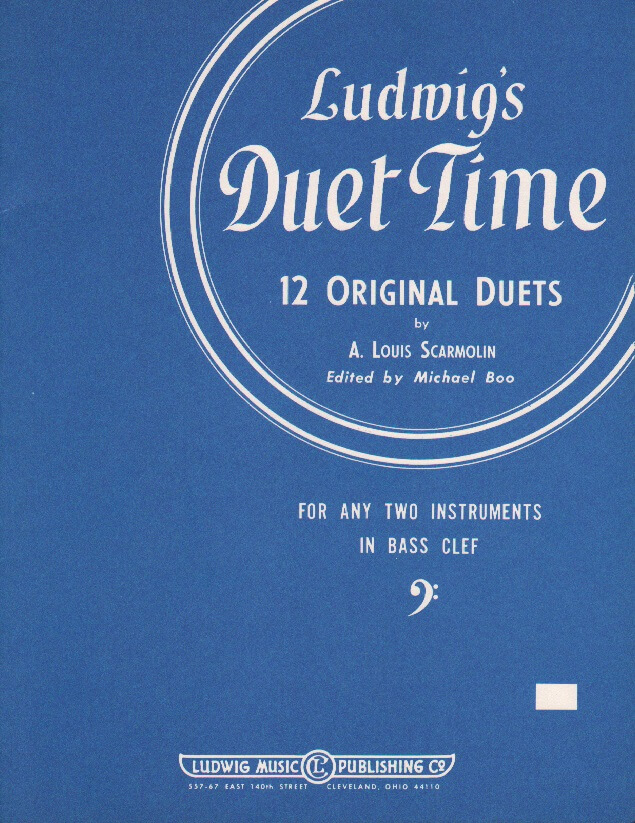 Ludwig's Duet Time - 2 Bass Clef Instruments