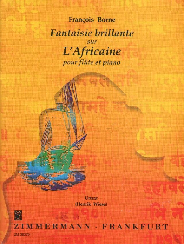 Fantaisie brillante sur L'Africaine - Flute and Piano