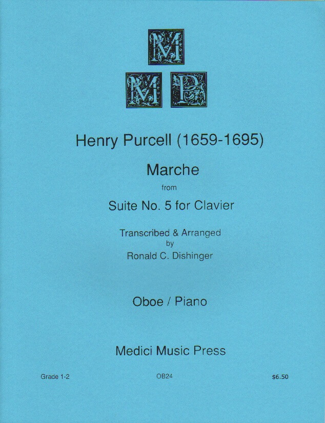 March from Suite No. 5 - Oboe and Piano